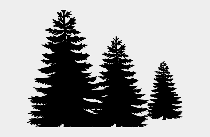 fir tree clipart, Cartoons - Fir Tree Clipart Treeline - Pine Tree Png Vector