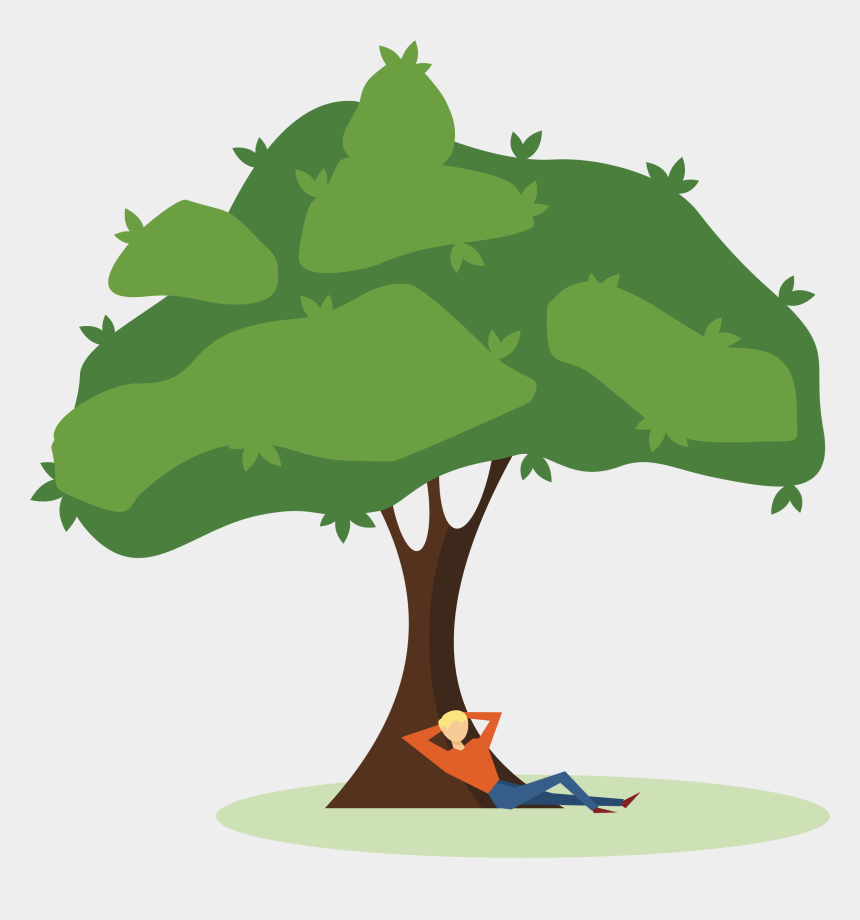 cutting trees clipart, Cartoons - Free On Dumielauxepices Net Ⓒ - Man Under The Tree