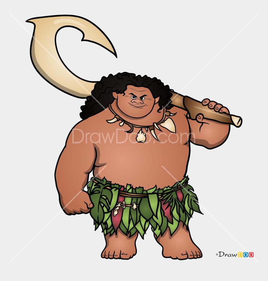 banyan tree clipart, Cartoons - How To Draw Maui, Moana - Draw Maui From Moana