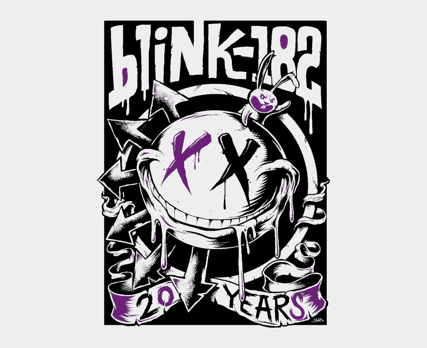 miss you clipart animation, Cartoons - Gif Music Rock Edit Live Era Band Punk Logo Blink 182 - Blink 182 20th Anniversary Tour