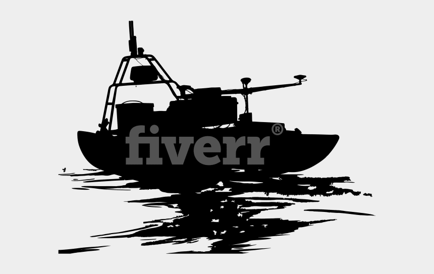how to trace clipart in silhouette, Cartoons - Big Worksample Image - Rigid-hulled Inflatable Boat