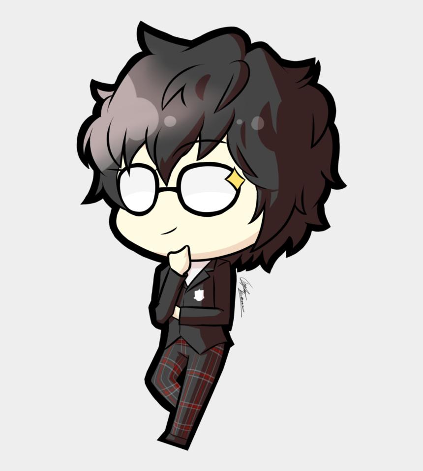 bored audience clipart, Cartoons - Persona Drawing Joker Transparent Png Clipart Free - Amamiya Ren Persona 5