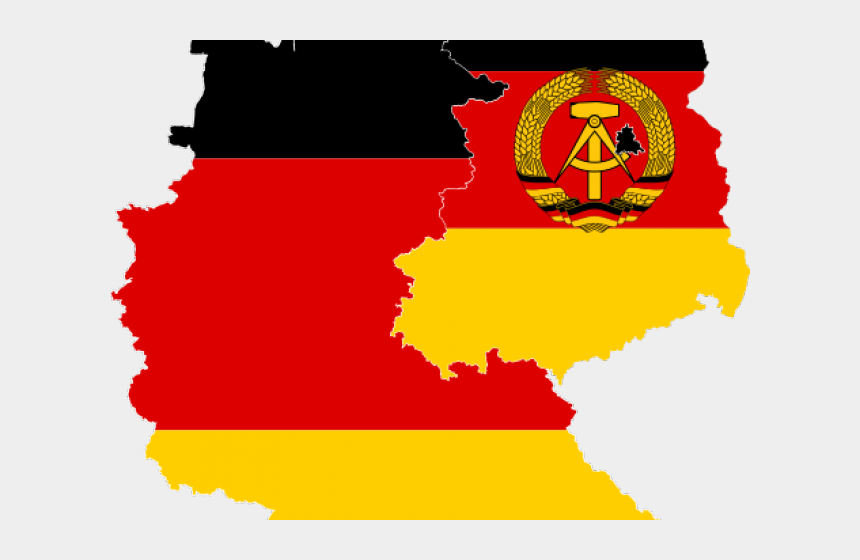 graphic artist clipart, Cartoons - Clipart Of The Day - East And West Germany Flag