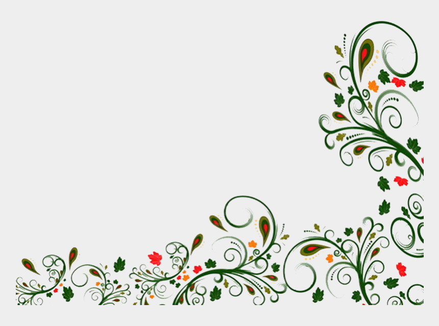 cumbersome clipart, Cartoons - Flower Borders And Frames Clipart - Flower Border Design Png