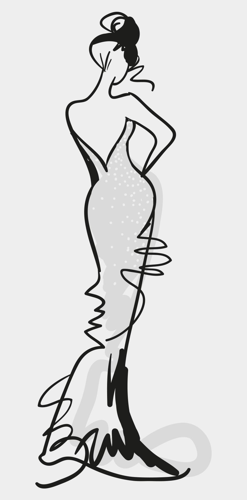 fashion clipart png, Cartoons - Fashion Clipart Transparent - Fashion Line Art Png