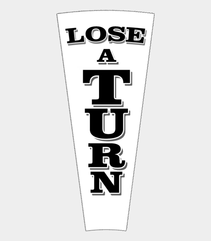 doorstop clipart, Cartoons - Lose A Turn Wedge By Wheelgen - Wheel Of Fortune Lose A Turn Wedge