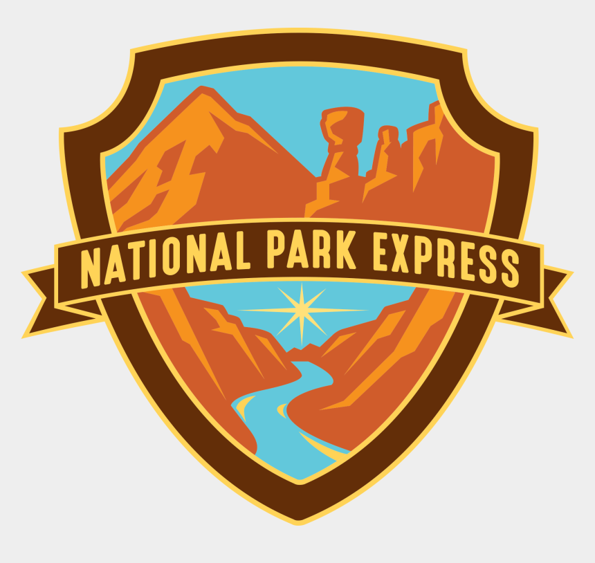 clipart national parks, Cartoons - National Park Express Logo