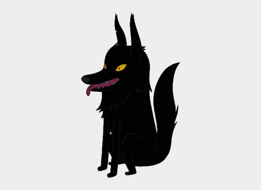 dead wolf clipart, Cartoons - Male Dark Wolf - Adventure Time Papa Wolf