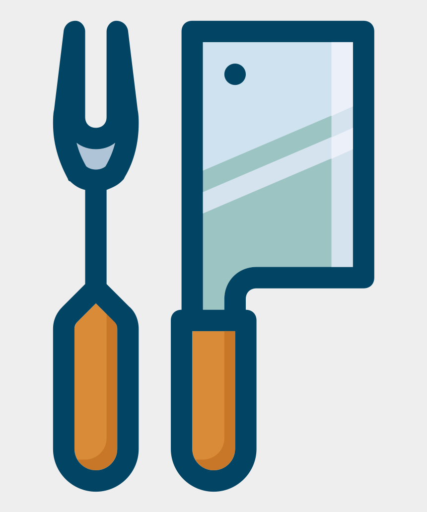 eating utensils clipart, Cartoons - This Png File Is About Utensils , Vector , Clipart - Cleaver
