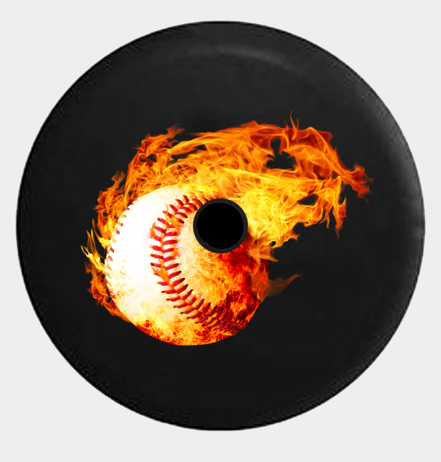 flaming hockey puck clipart, Cartoons - Jeep Wrangler Jl Backup Camera Day Glowing Flames With - Tire Cover For Jeep Wrangler Soccer