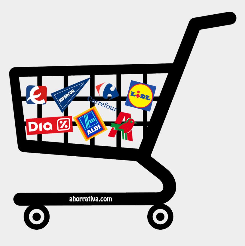 ir de compras clipart, Cartoons - ¿cómo Ahorrar En La Compra Del Supermercado - Carrinho De Compras Vetor