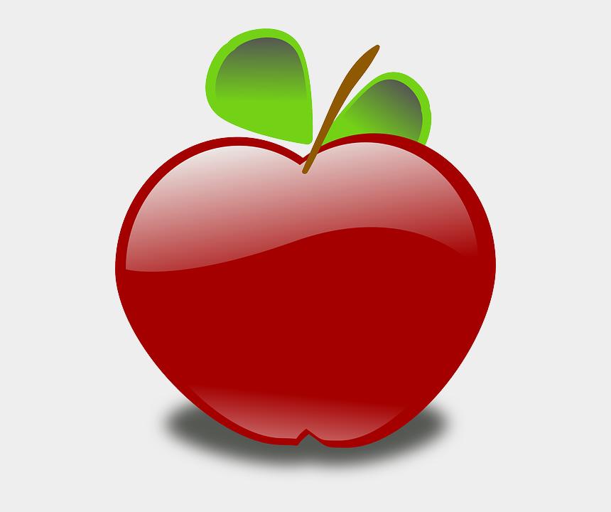 antonym clipart, Cartoons - Free Vector Graphic - Apple Cartoon Transparent Background