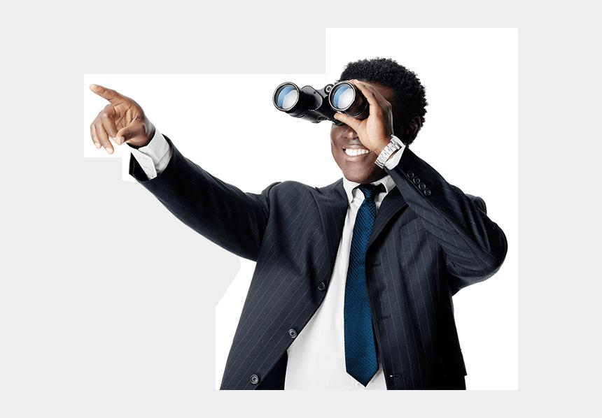 man looking through binoculars clipart, Cartoons - Your Call & Processing Partner - Person Looking Through Binoculars Png