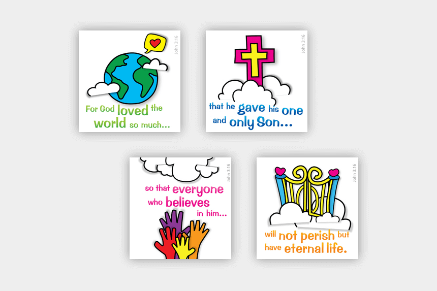 john 3:16 clipart, Cartoons - Child Evangelism Tool 1211 Description A - Clip Art For John 3 16