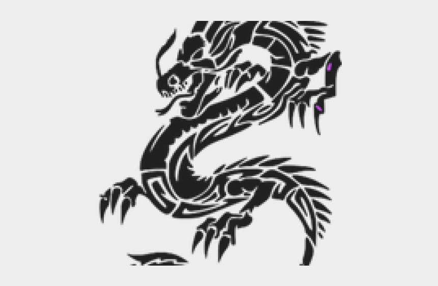 how to edit clipart, Cartoons - Dragon Tattoos Clipart Png Cb Edit - Dragon Tattoo