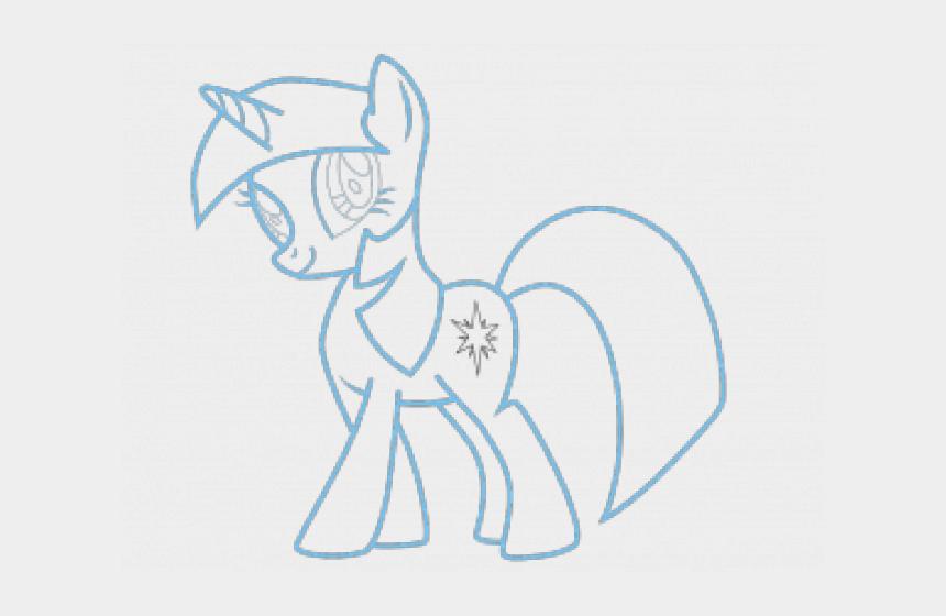 epa clipart, Cartoons - Drawn My Little Pony Simple - Dibujos De Marilo Pony Para Pintar