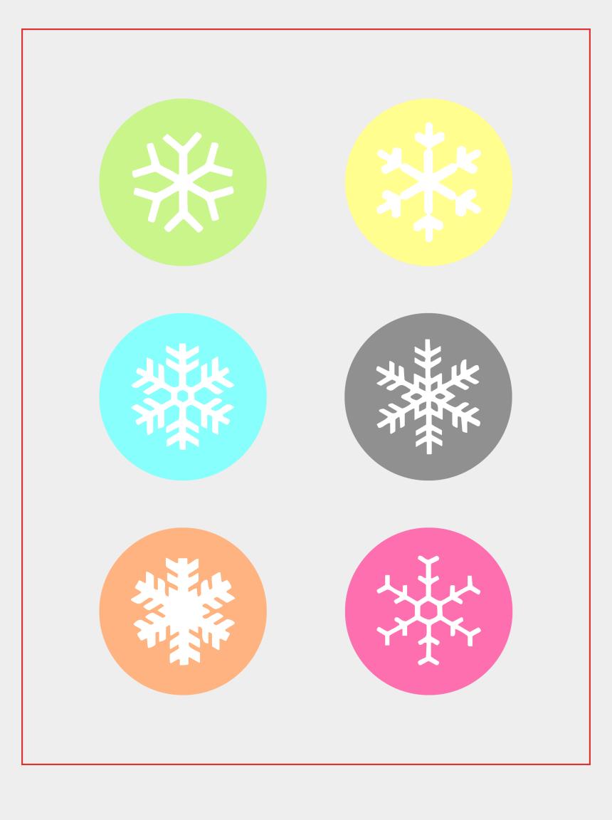 clipart christmas gift tags, Cartoons - Free Printable Snowflake T Tags - Christmas Day
