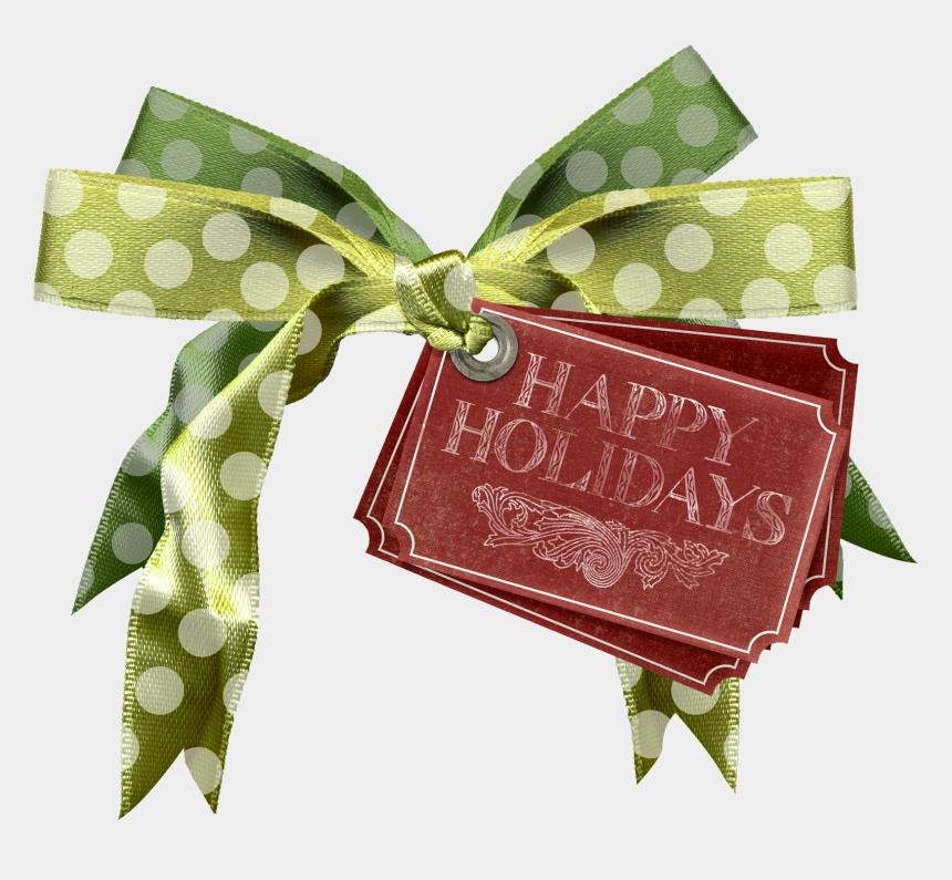 clipart christmas gift tags, Cartoons - Holiday Tag Png - Happy Holidays Tag Png