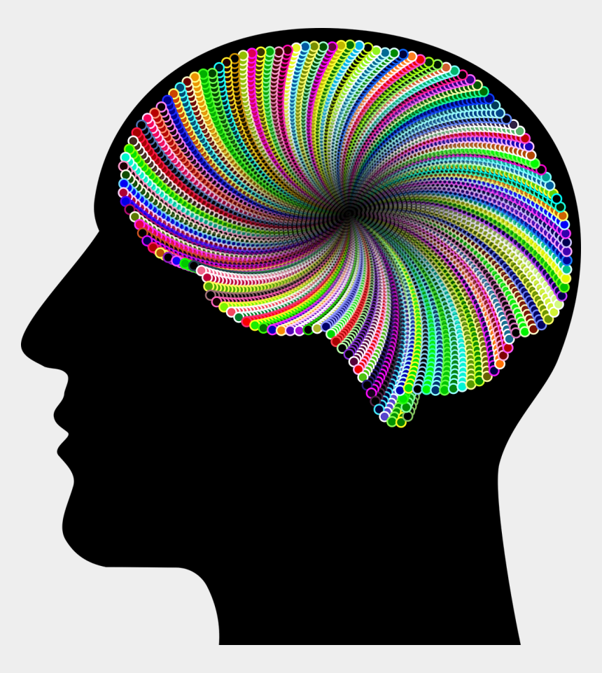 artificial intelligence clipart, Cartoons - This Png File Is About Abstract , Head , Artificial - Brain With Question Marks