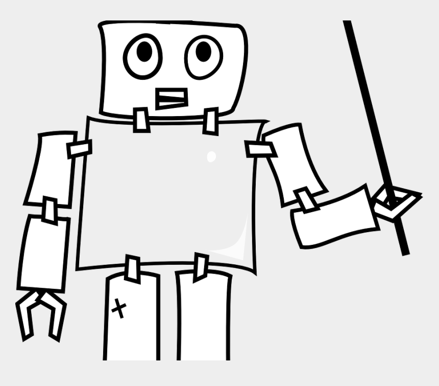 artificial intelligence clipart, Cartoons - Robot Teacher Png - Wild Robot Coloring Pages
