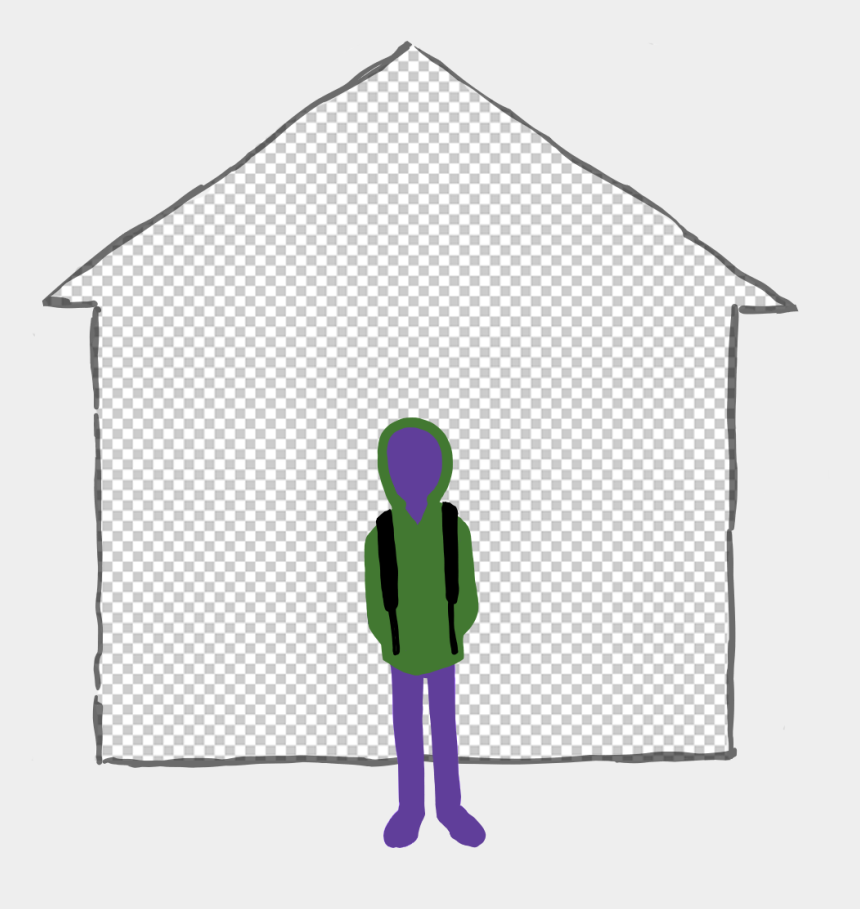 foster home clipart, Cartoons - Group Home - Institution - Illustration