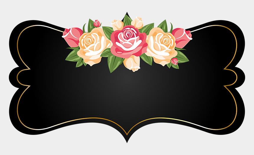 chalkboard flower clipart, Cartoons - Brinde Frames Em Png Labels Y O Ⓒ - Frame Chalkboard Flower Png