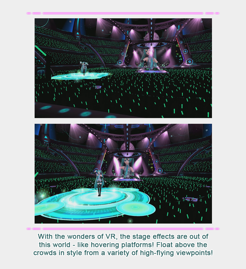 concert stage clipart, Cartoons - Concert Stage Png - Hatsune Miku Vr Future Live Stage