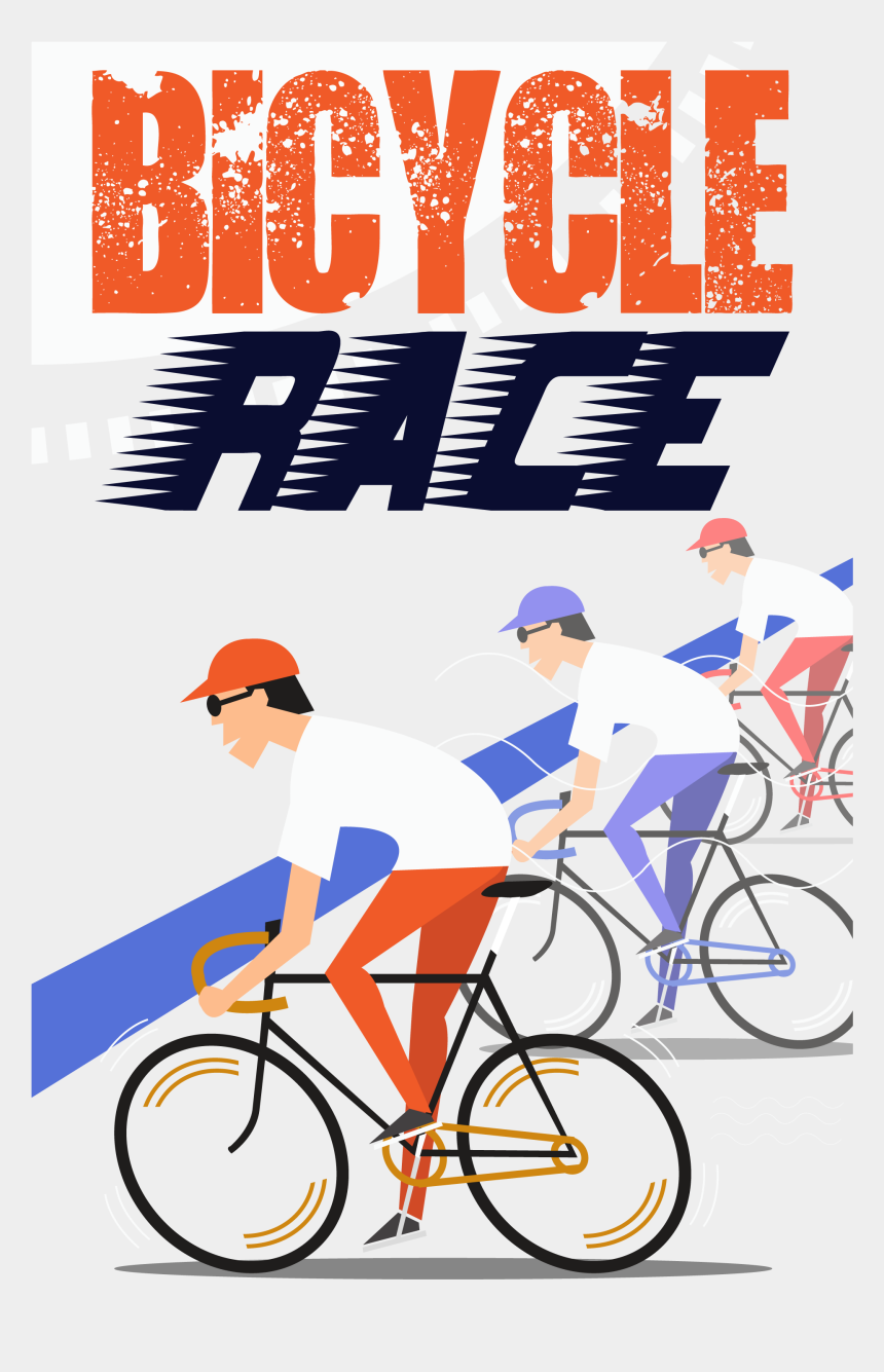 bicycle racing clipart, Cartoons - Clipart Bicycle Cycling Sport - Bicycle Race Png