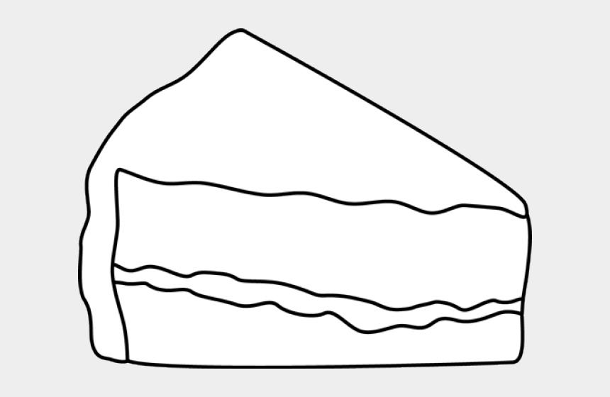 lemon meringue pie clipart, Cartoons - Dessert Clipart Piece Pie - Cake Slice Clipart Black And White