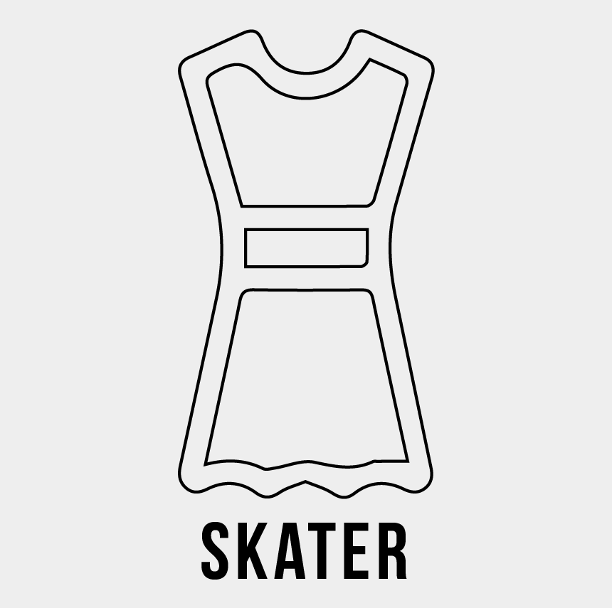 woman shopping clipart black and white, Cartoons - Skater Dress, Dress Type, Women's Apparel, Uptownie - Postal Code