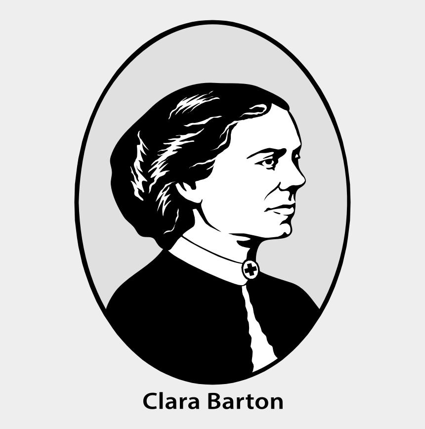 portrait clipart black and white, Cartoons - Black M /m/02csf Portrait M Drawing - Clara Barton Drawings