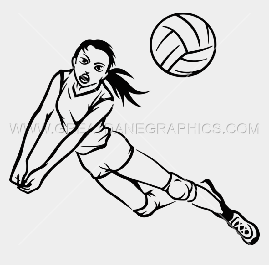 kids playing volleyball clipart, Cartoons - Drawing Sport Volleyball - Volleyball Player Drawing Easy