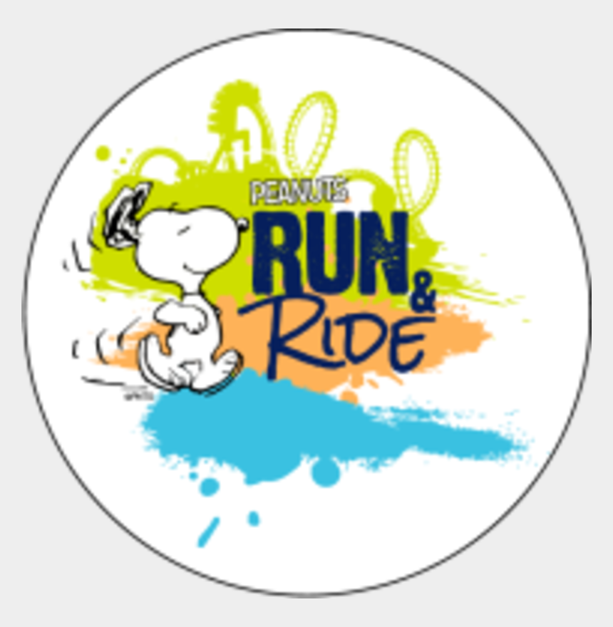 snoopy birthday clipart, Cartoons - Round Out Summer Running With The Peanuts Gang And - Run And Ride Cedar Point
