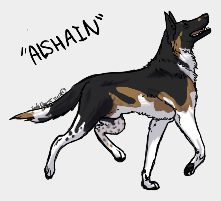 german shepard clipart, Cartoons - Collection Of Free Dogs Drawing German Shepherd Download - Drawings Of Anime Dogs