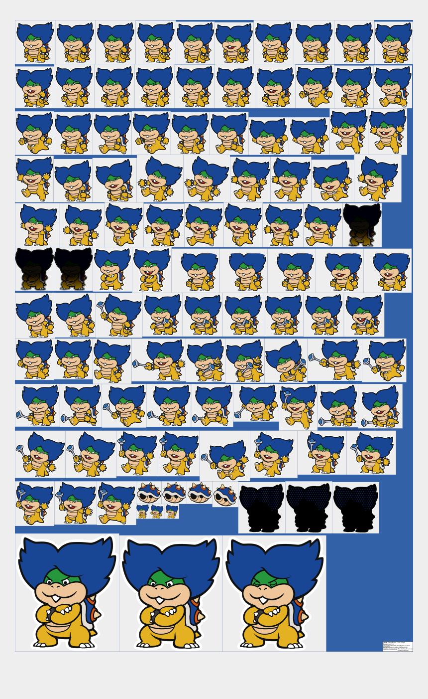 groundbreaking shovel clipart, Cartoons - Ludwig - Paper Mario Color Splash Ludwig