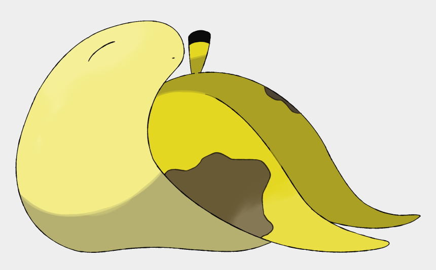 banana slug clipart, Cartoons - Bananug - Peel