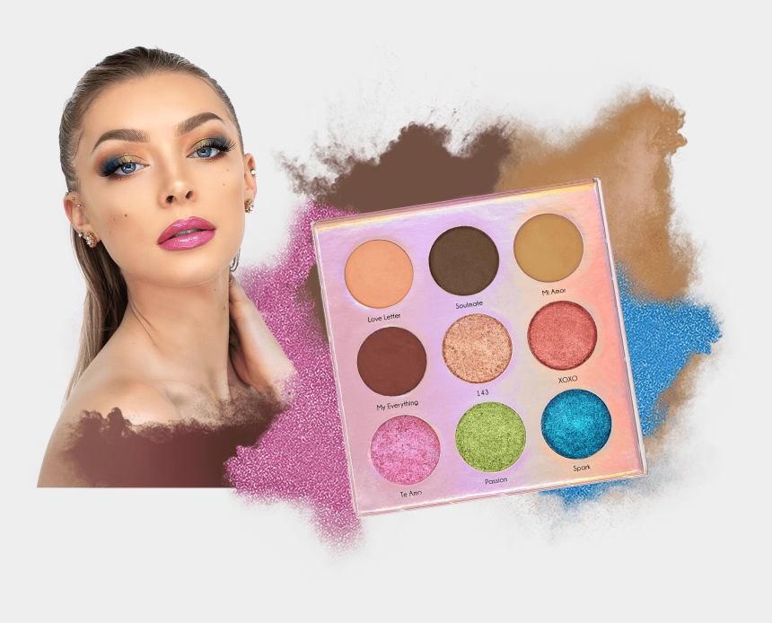 eyeshadow palette clipart, Cartoons - Eye Shadow
