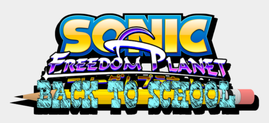 back to school bash clipart, Cartoons - Sonic X Freedom Planet Back To School Logo By Aaronkasarion - Sonic Boom Logo Png