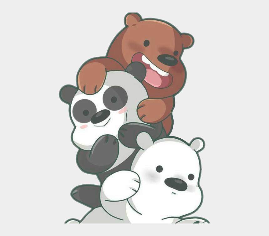 boing clipart, Cartoons - #osos #panda #pardo #polar #animals #kawaii #boing - Cute We Bare Bears Fanart