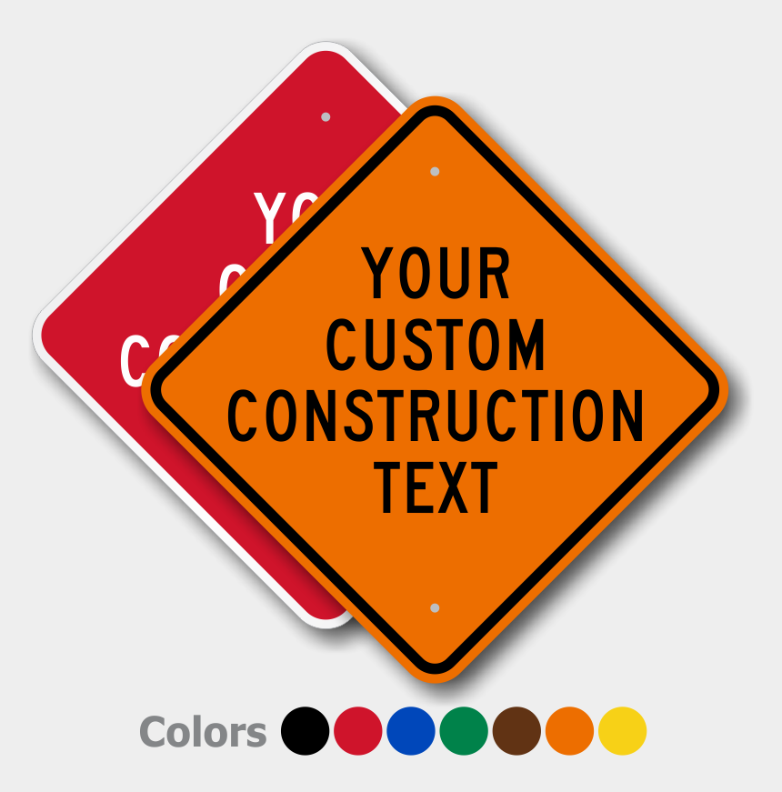 best clipart site, Cartoons - Signs Highly Durable Best Prices Zoom Personalize Ⓒ - Road Construction Sign