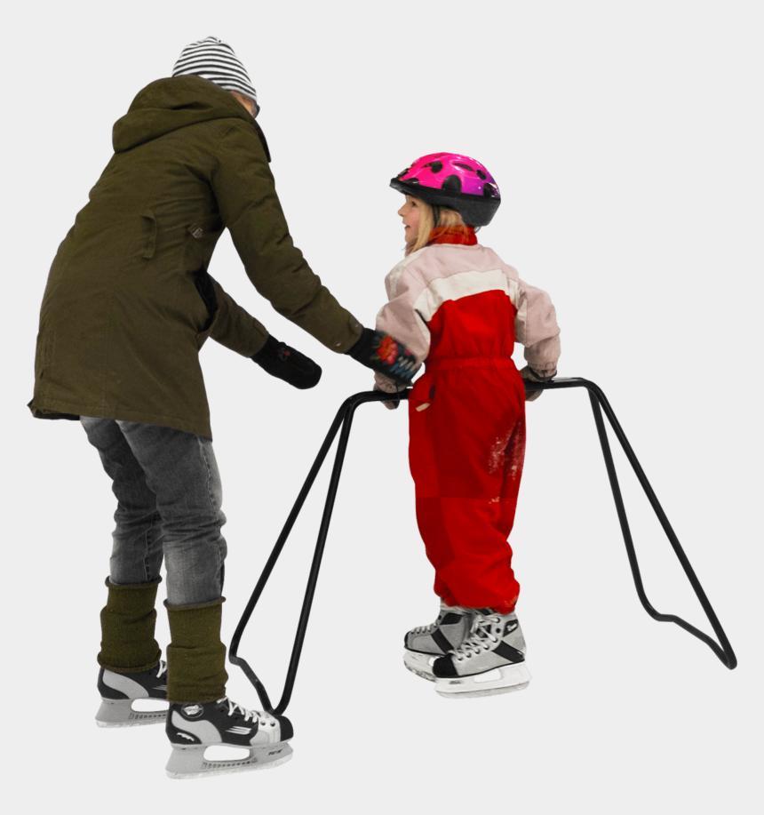 children ice skating clipart, Cartoons - Ice Skating - Child Ice Skating Png