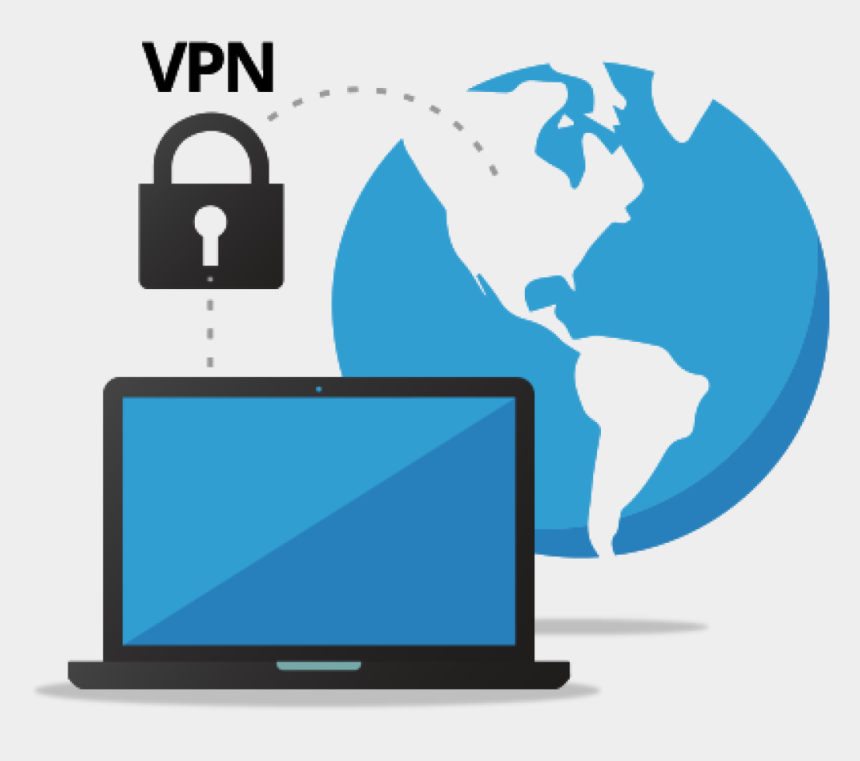 vpn clipart, Cartoons - With A Vpn In Hand, The Social Media Experience Becomes - Vpn Virtual Private Networks