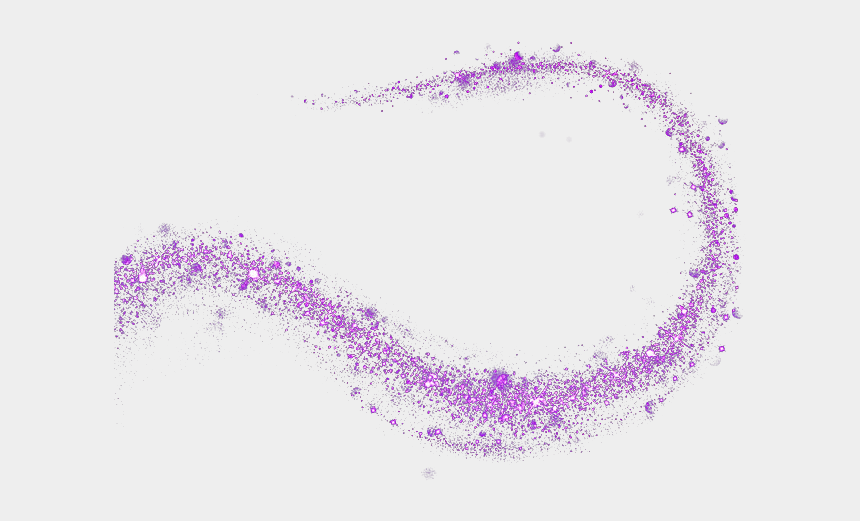 Purple Star Curve Effect Element Free Download Image - Lilac