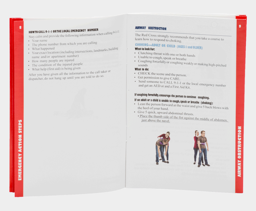 first aid clipart for kids, Cartoons - Emergency First Aid Guide - Brochure