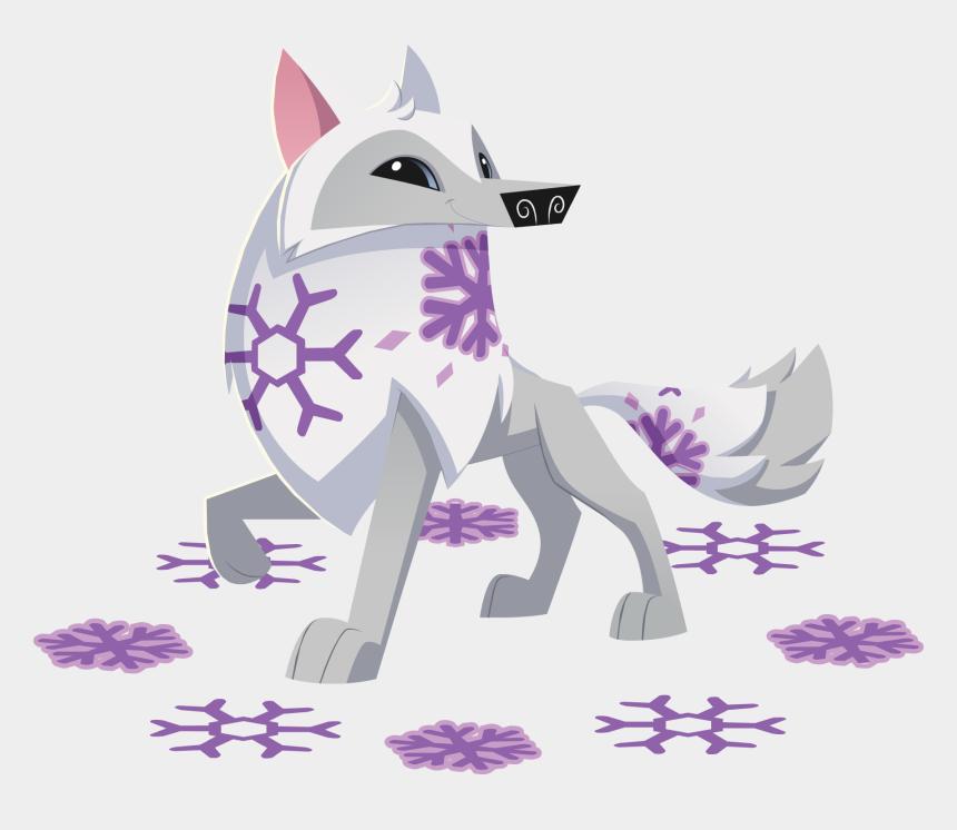 purple animal clipart, Cartoons - Animal Jam Arctic Wolf Jpg - Animal Jam Arctic Wolf