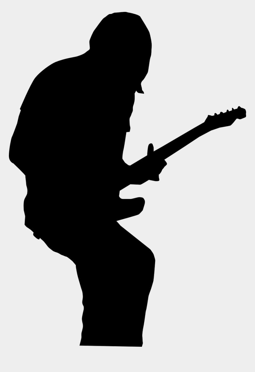 rock band silhouette clipart, Cartoons - Guitar Silhouette Png - Rock Star Silhouette Png