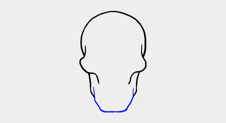 realistic skull clipart, Cartoons - Skull Drawing - Drawing