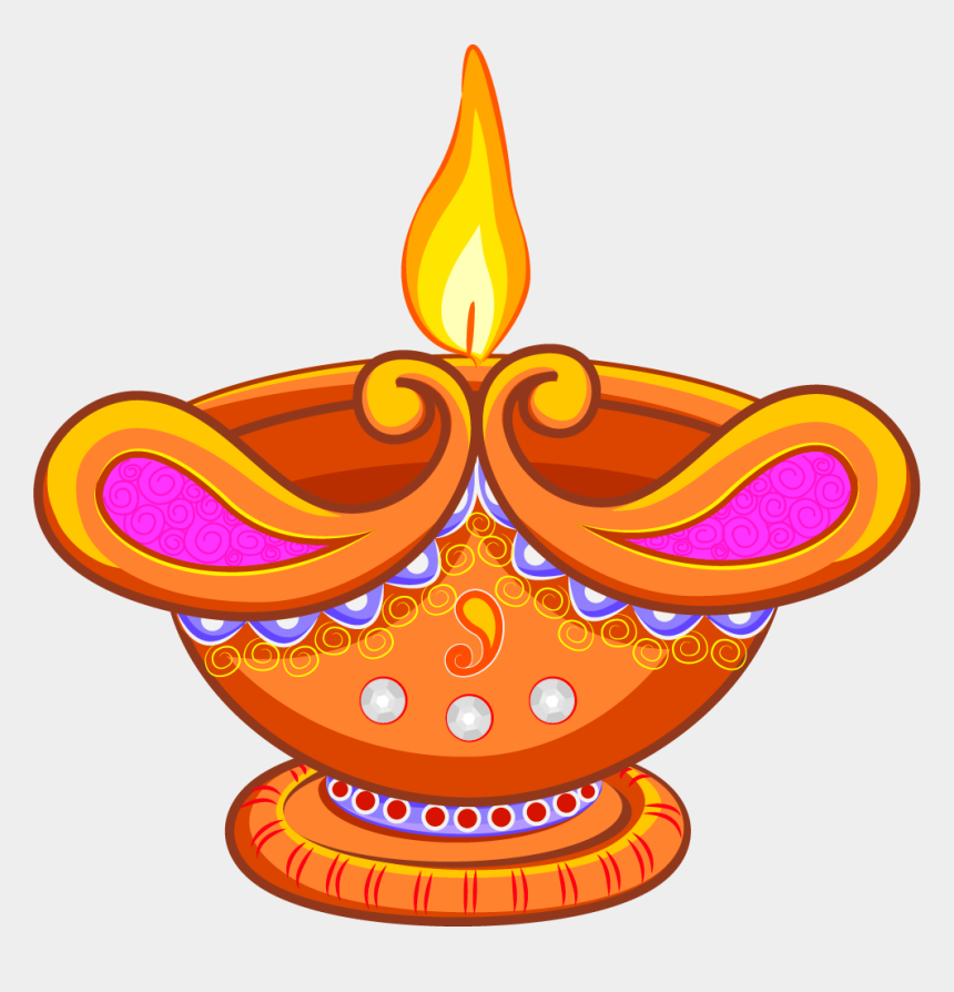 illumination clipart, Cartoons - Light Lamp Clip Art - Cartoon Rangoli For Diwali