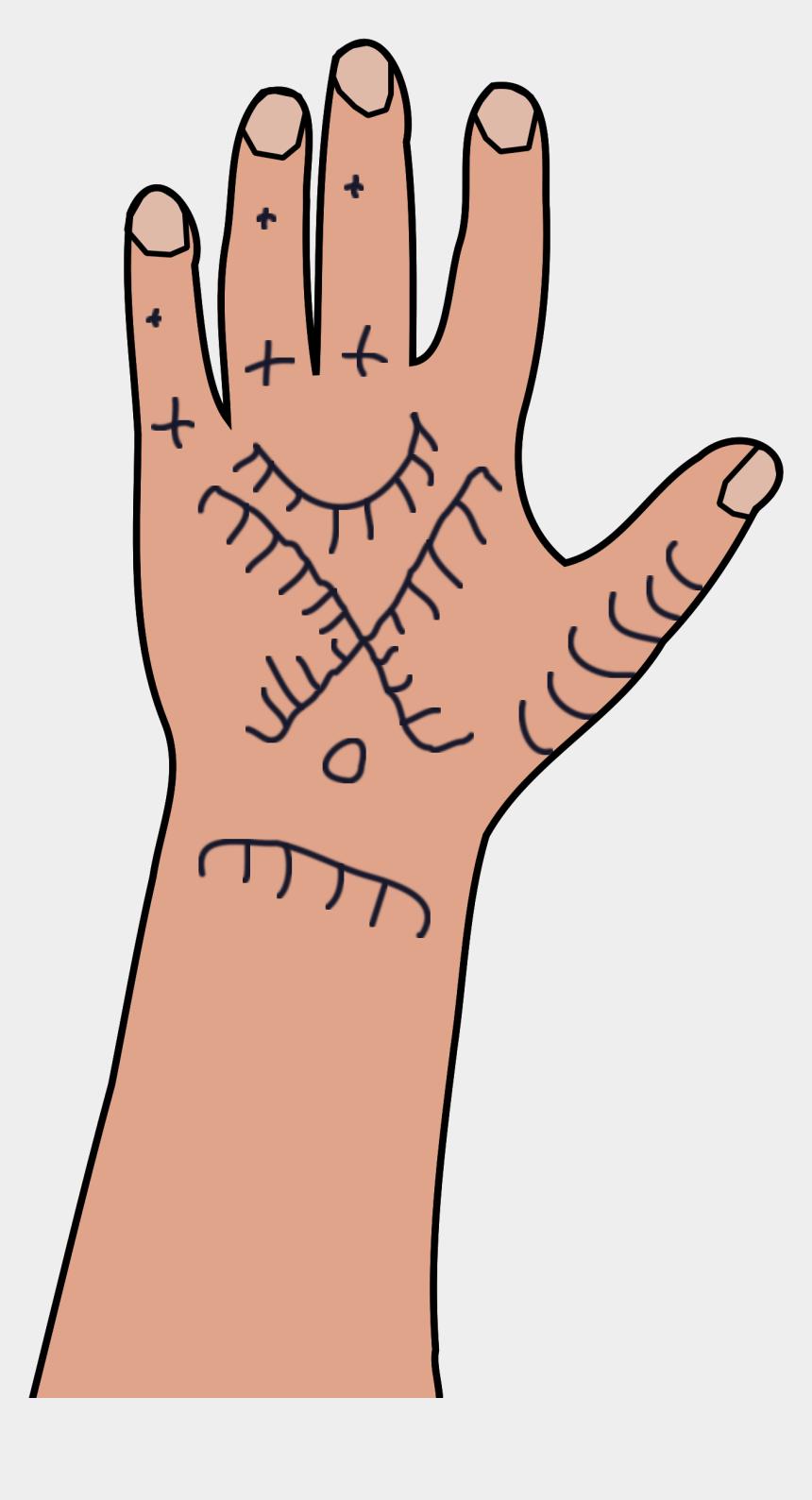 high five clipart, Cartoons - Kurdish Mens Tattoo Clipart , Png Download - Kurdish Hand Tattoo