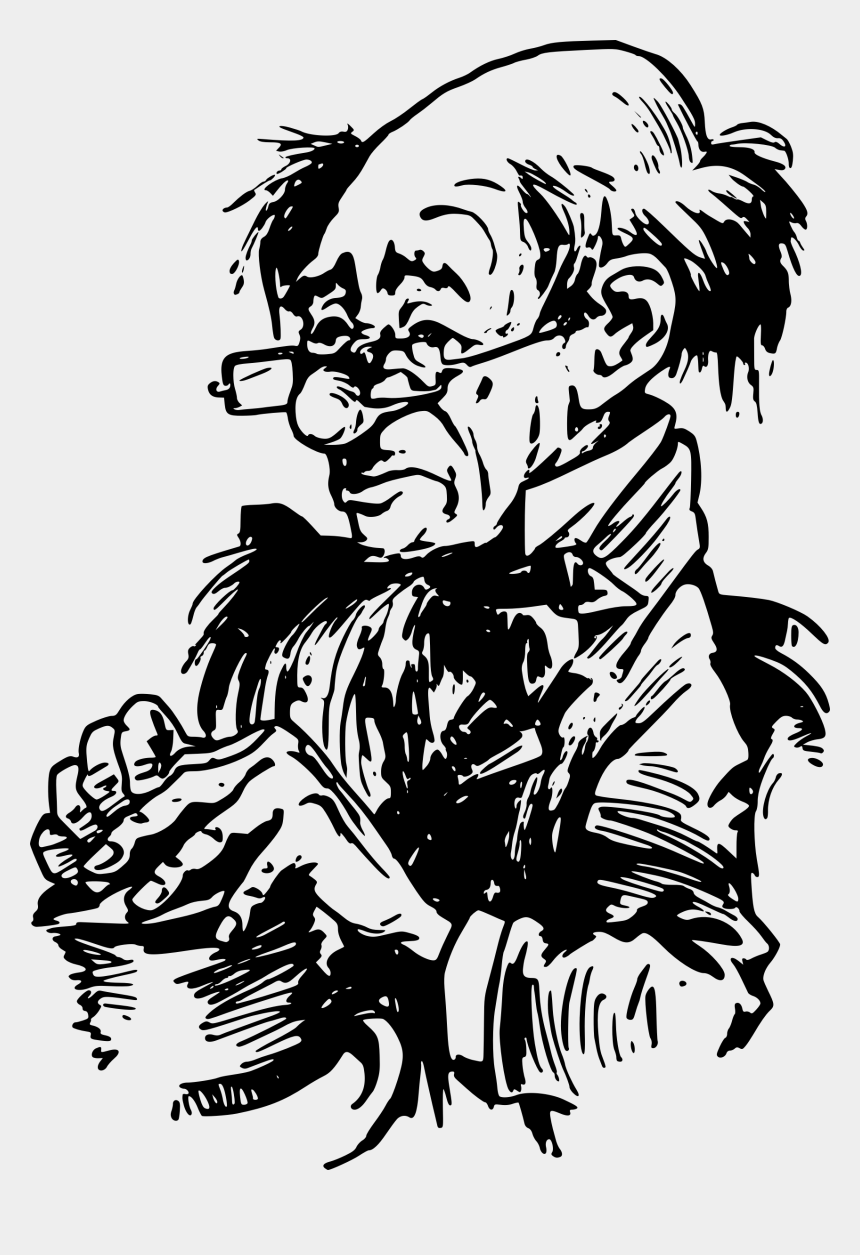 rip clipart, Cartoons - Drawing Bts Meaningful - Old Man Clip Art Black And White